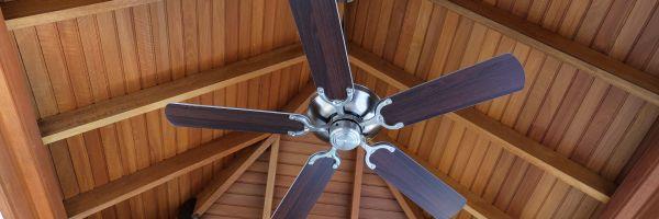 wood ceiling fan