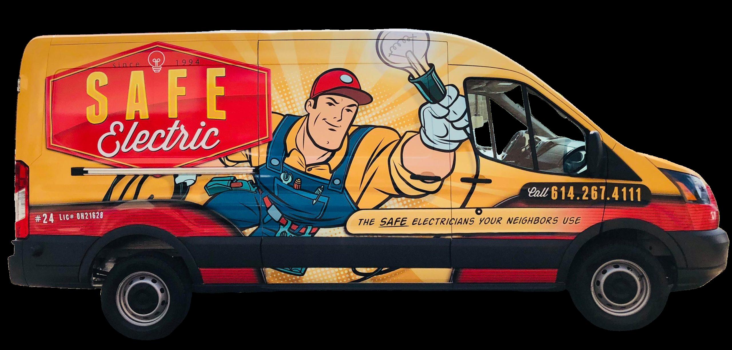 Safe Electric LLC van